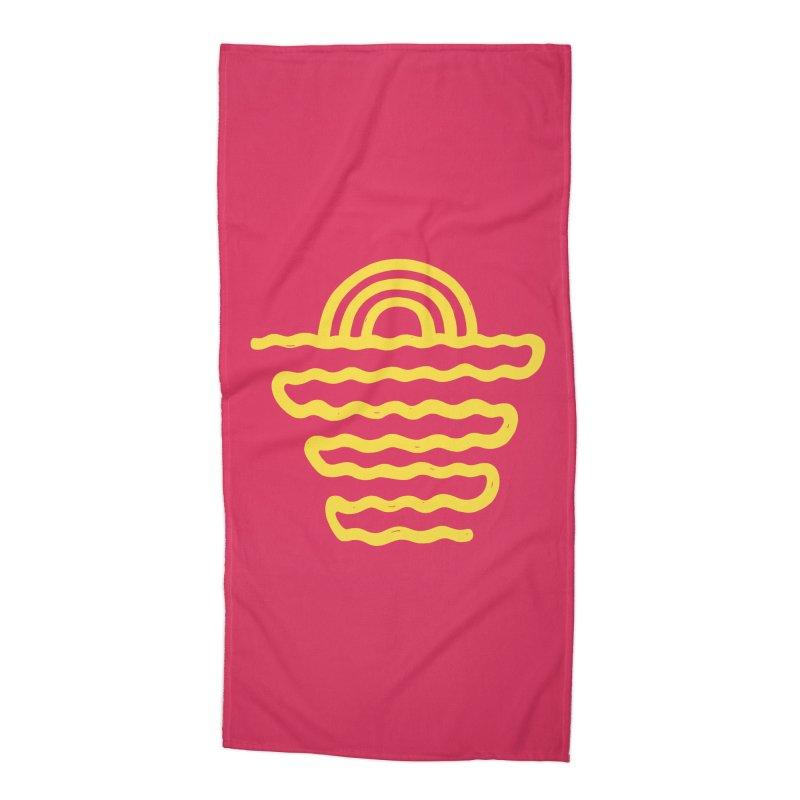 CO\STL/NE Accessories Beach Towel by DYLAN'S SHOP