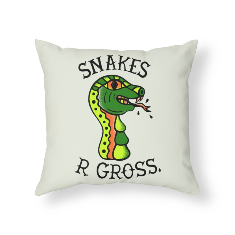 SN\KES Home Throw Pillow by DYLAN'S SHOP