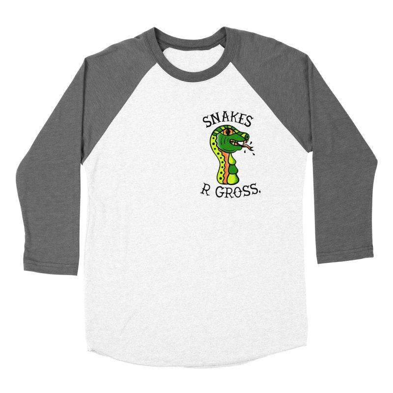 SN\KES Women's Baseball Triblend T-Shirt by DYLAN'S SHOP