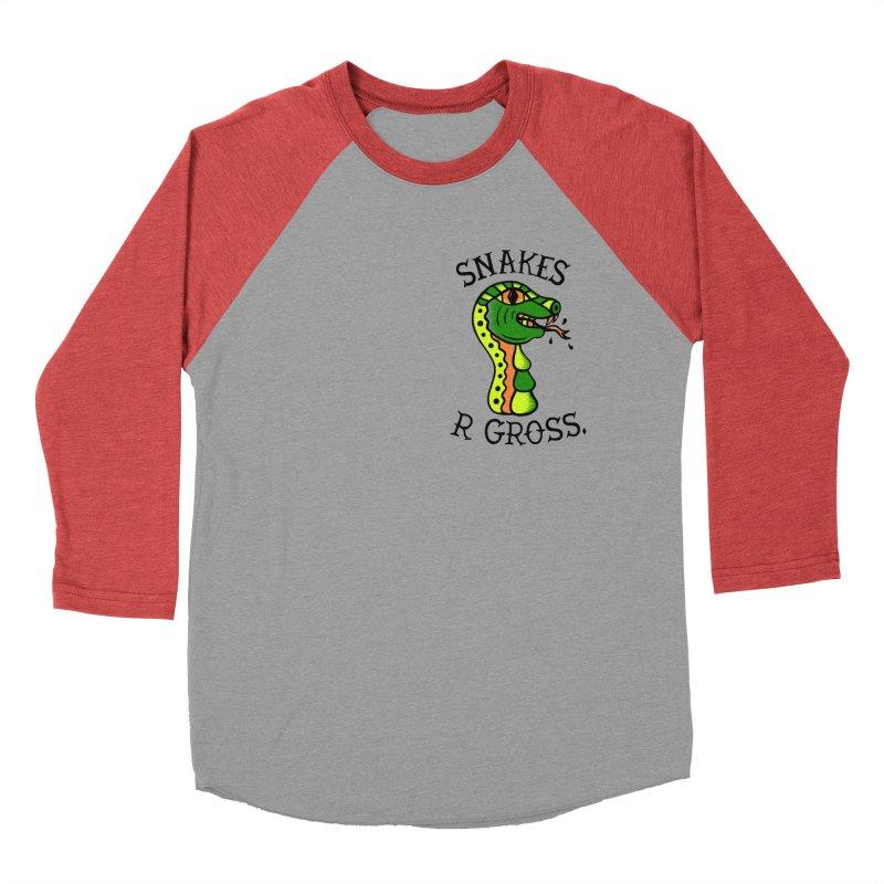 SN\KES Men's Baseball Triblend Longsleeve T-Shirt by DYLAN'S SHOP