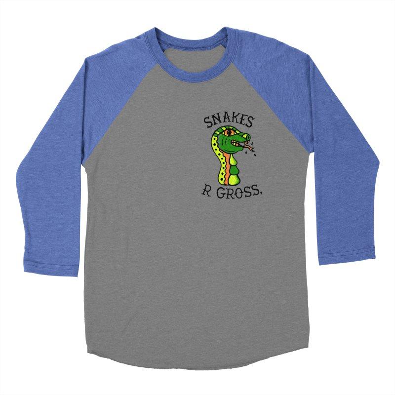 SN\KES Men's Baseball Triblend T-Shirt by DYLAN'S SHOP