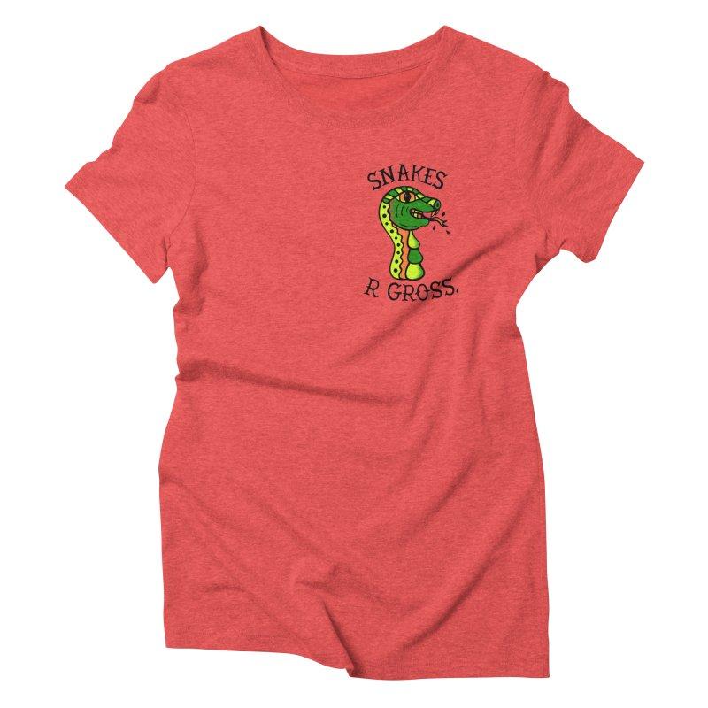 SN\KES Women's Triblend T-Shirt by DYLAN'S SHOP