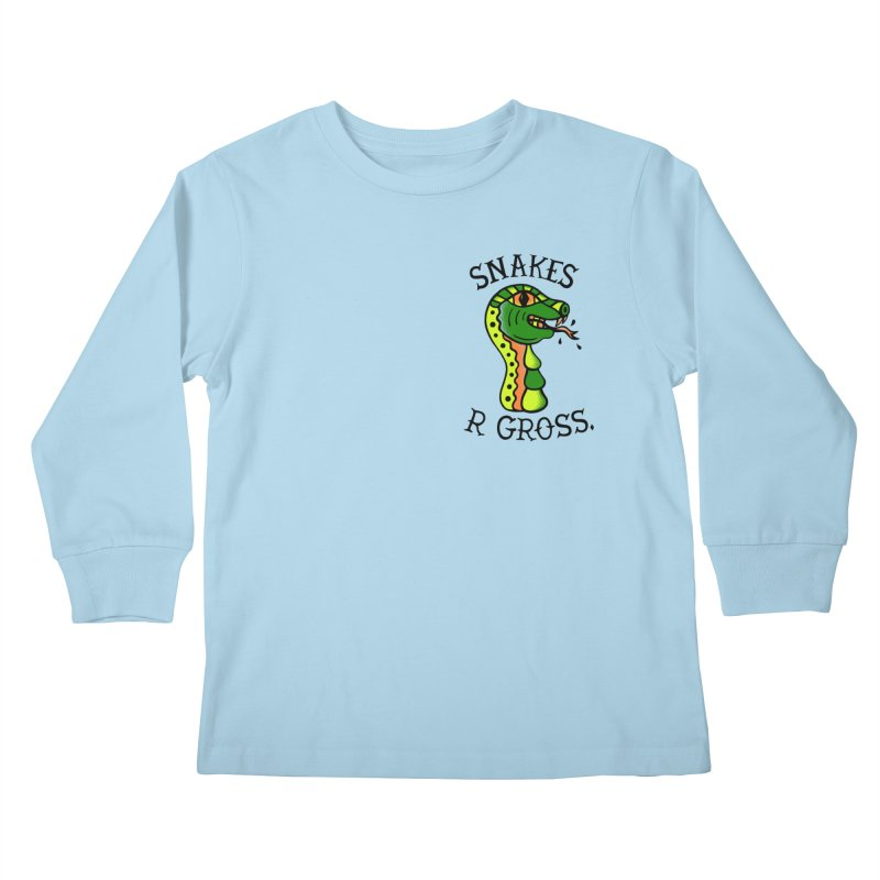 SN\KES Kids Longsleeve T-Shirt by DYLAN'S SHOP