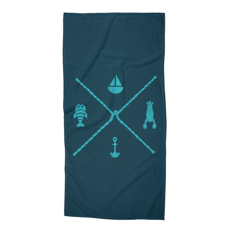 SUB-AQUATIC COMPASS in Beach Towel by DYLAN'S SHOP