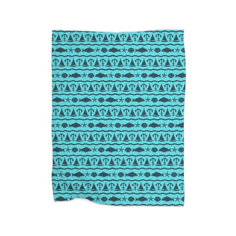 W\TER Home Fleece Blanket by DYLAN'S SHOP