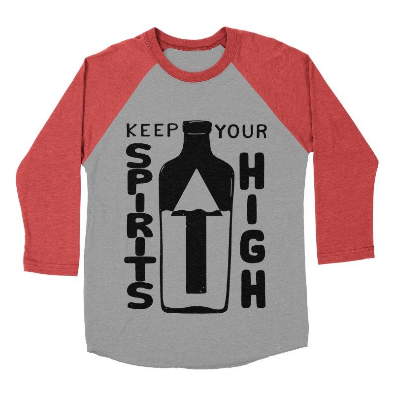 SP/R/TS Men's Baseball Triblend Longsleeve T-Shirt by DYLAN'S SHOP
