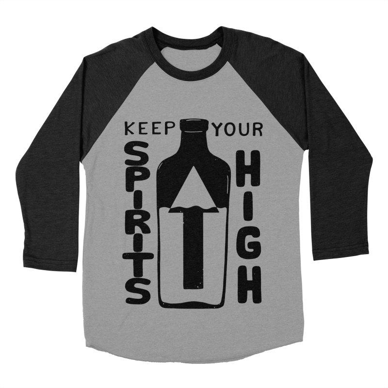 SP/R/TS Men's Baseball Triblend T-Shirt by DYLAN'S SHOP