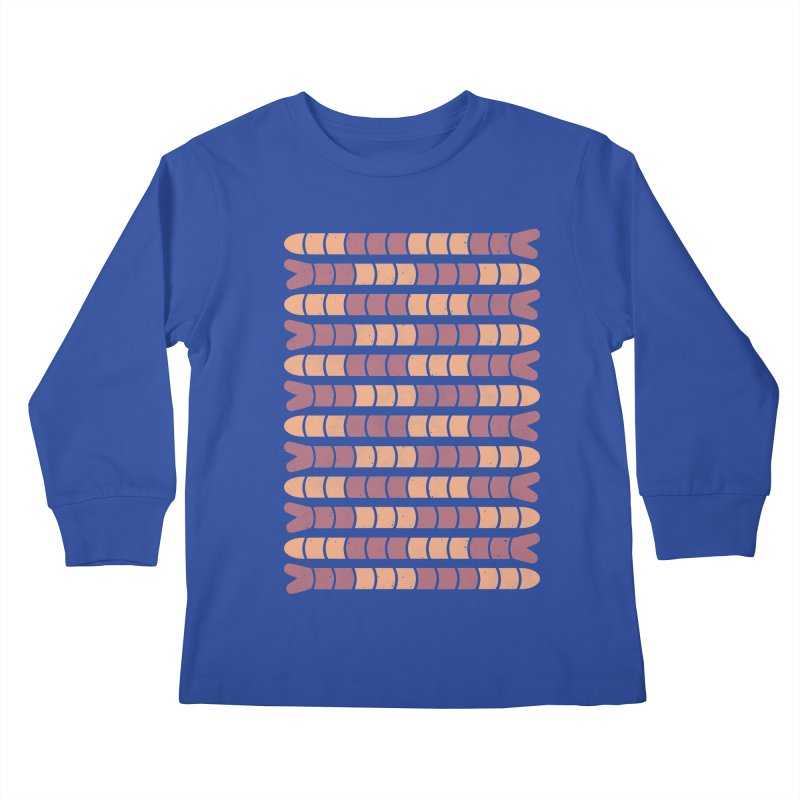 SQWORM Kids Longsleeve T-Shirt by DYLAN'S SHOP