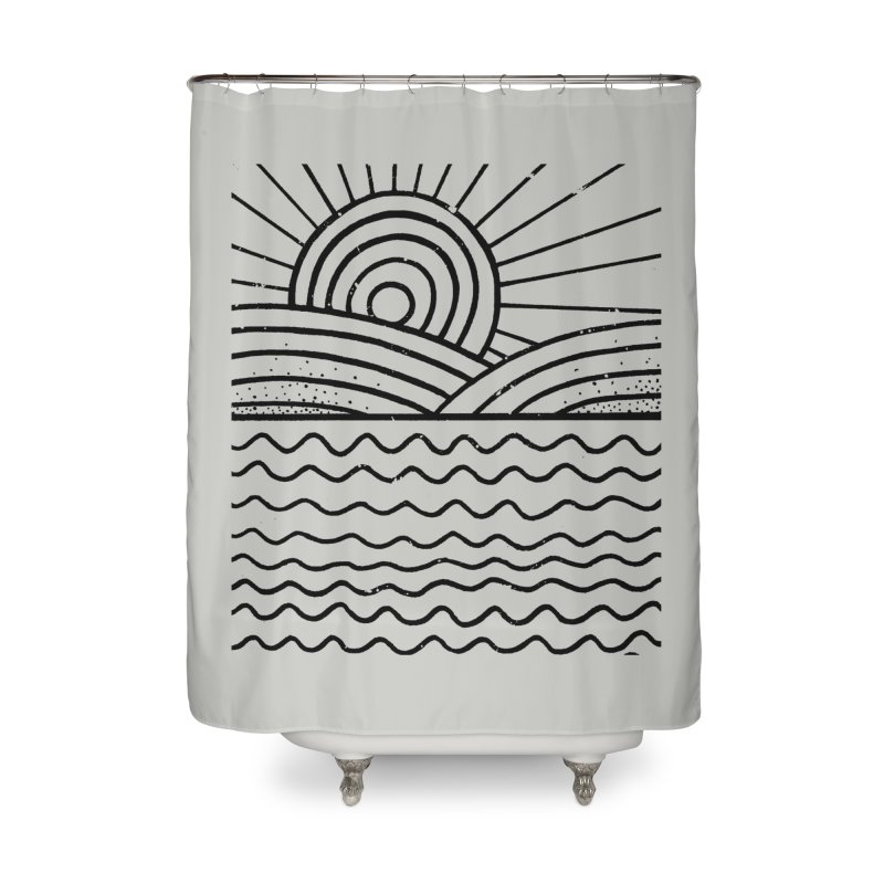LANDL/NES in Shower Curtain by DYLAN'S SHOP