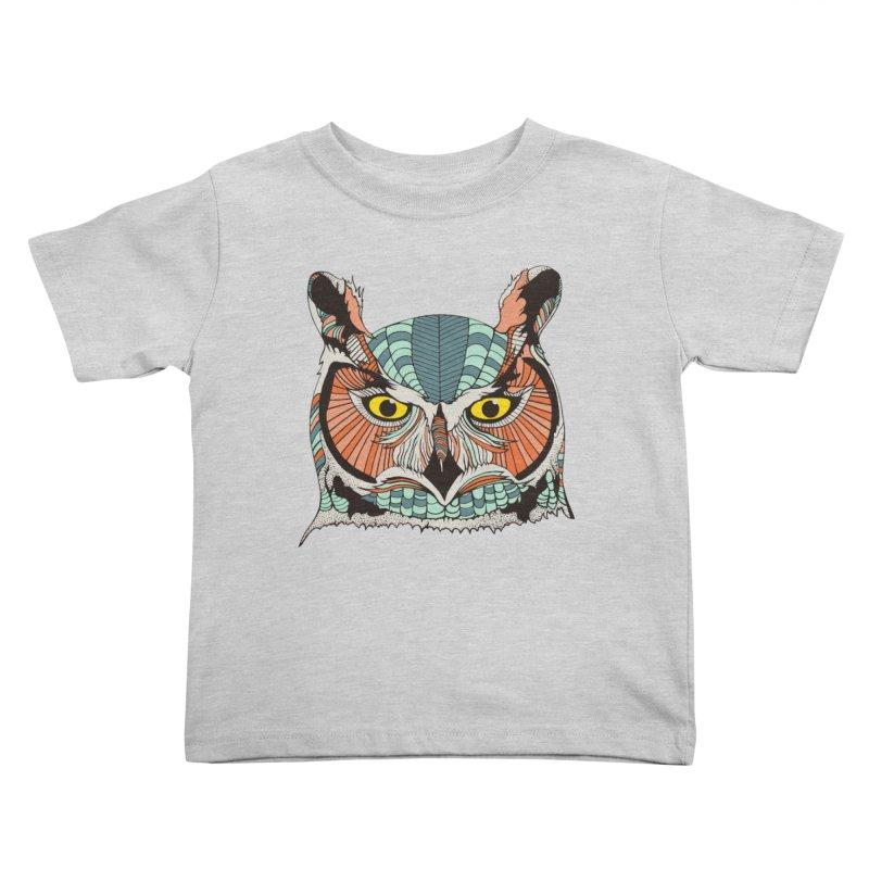 OWLBERT Kids Toddler T-Shirt by DYLAN'S SHOP