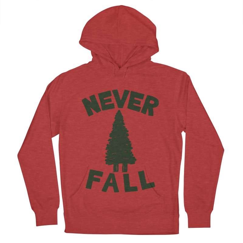 NEVER F\LL Men's Pullover Hoody by DYLAN'S SHOP