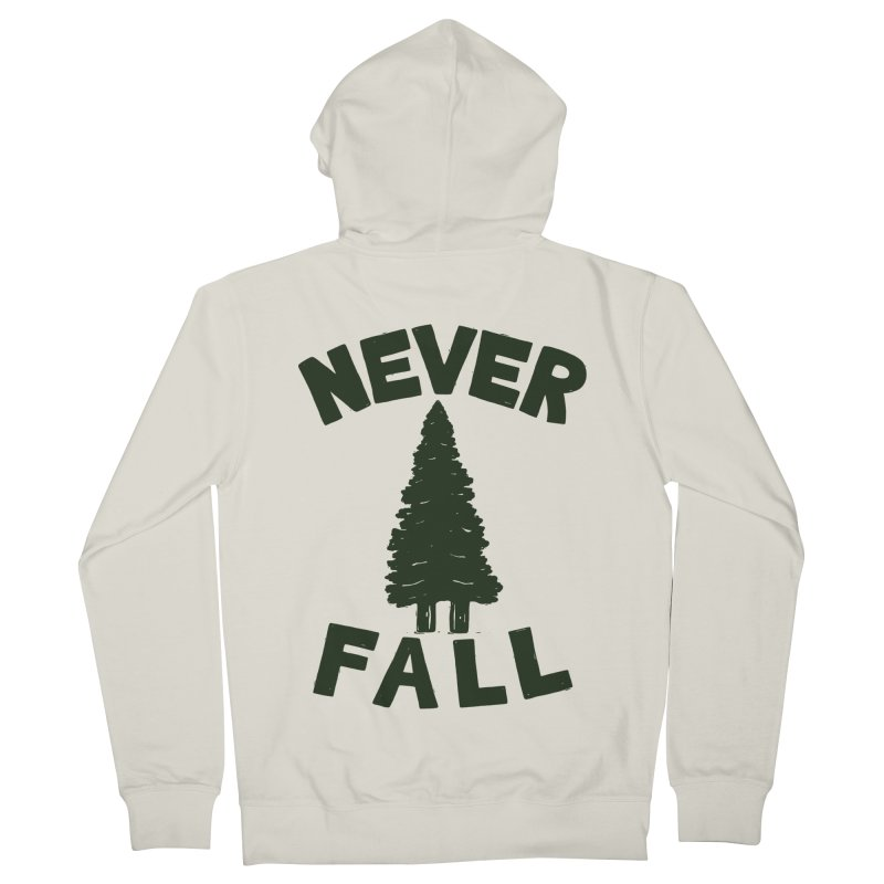 NEVER F\LL Women's Zip-Up Hoody by DYLAN'S SHOP