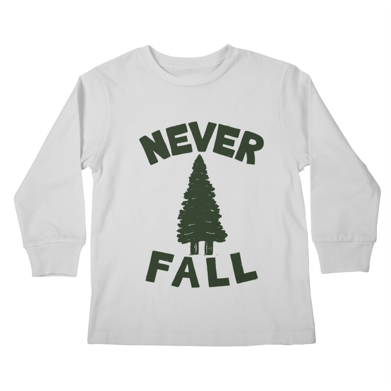 NEVER F\LL Kids Longsleeve T-Shirt by DYLAN'S SHOP