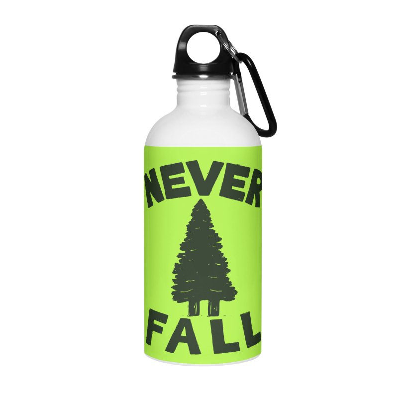 NEVER F\LL Accessories Water Bottle by DYLAN'S SHOP