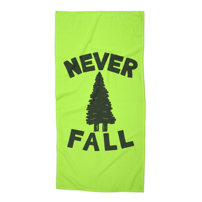 NEVER F\LL Accessories Beach Towel by DYLAN'S SHOP