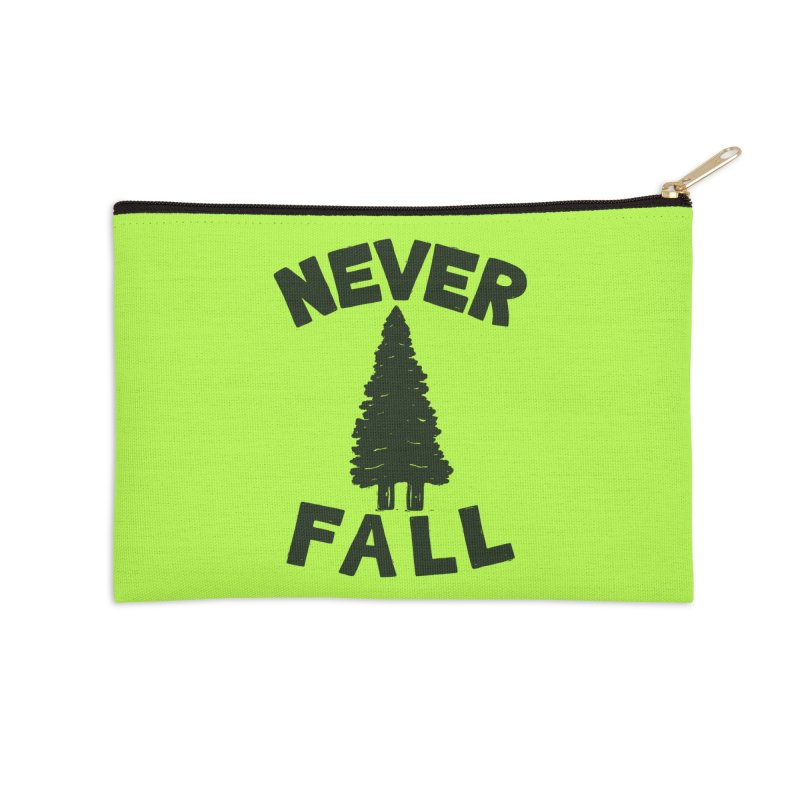 NEVER F\LL Accessories Zip Pouch by DYLAN'S SHOP