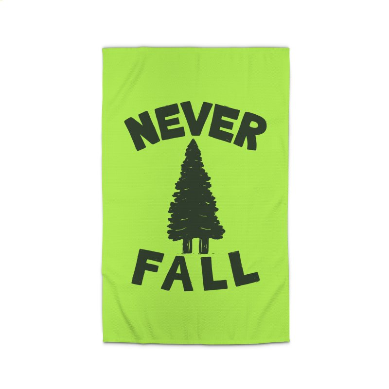 NEVER F\LL Home Rug by DYLAN'S SHOP