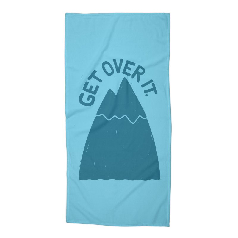 GET OVER /T Accessories Beach Towel by DYLAN'S SHOP