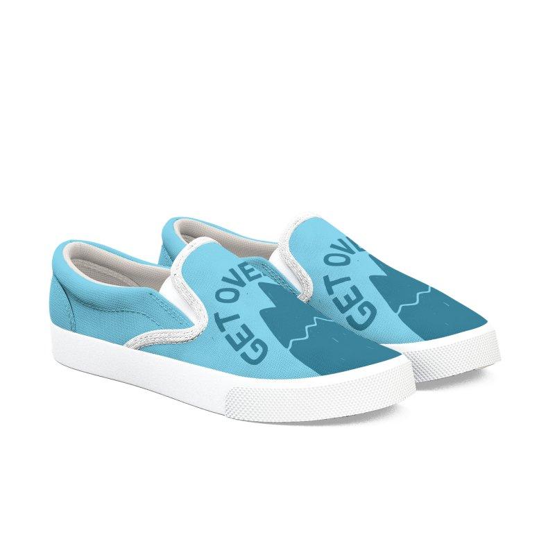 GET OVER /T Men's Slip-On Shoes by DYLAN'S SHOP