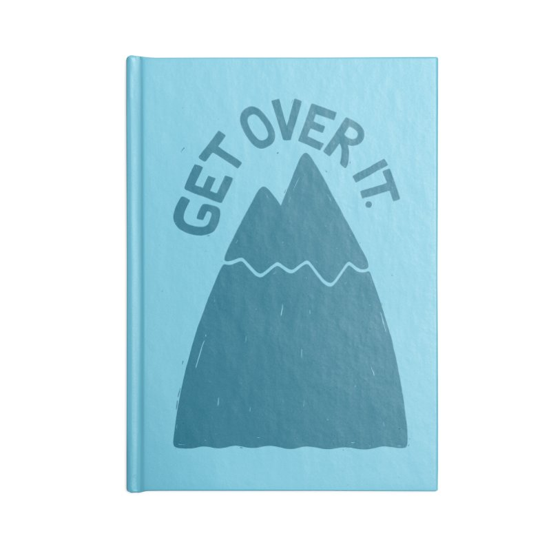 GET OVER /T Accessories Notebook by DYLAN'S SHOP