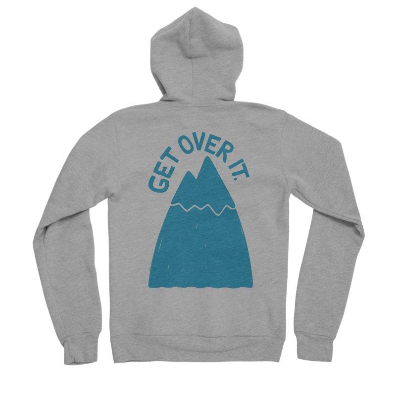 GET OVER /T Men's Sponge Fleece Zip-Up Hoody by DYLAN'S SHOP