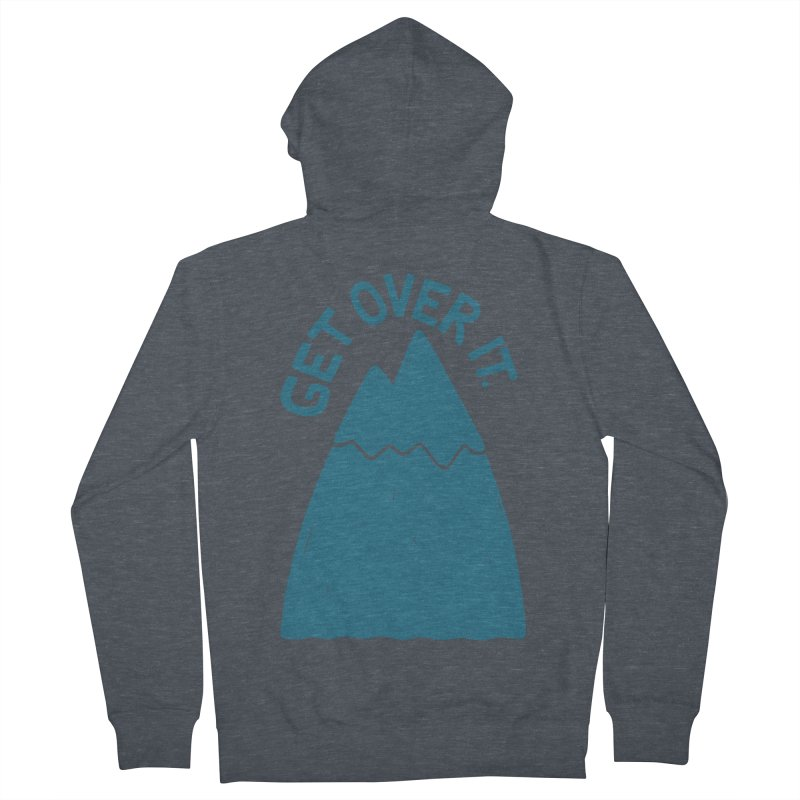 GET OVER /T Men's Zip-Up Hoody by DYLAN'S SHOP