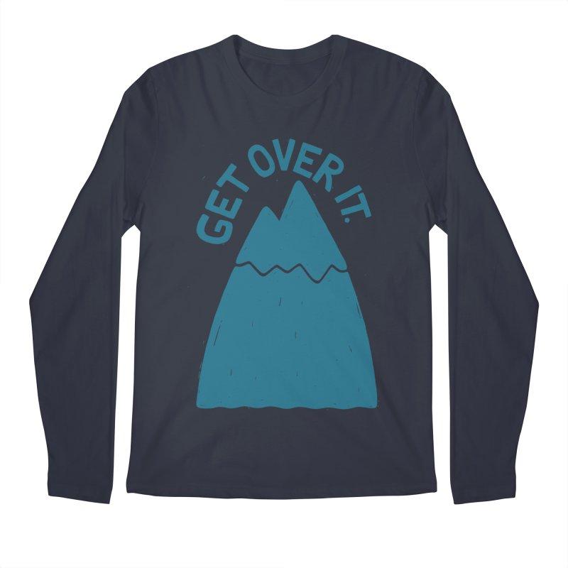 GET OVER /T Men's Regular Longsleeve T-Shirt by DYLAN'S SHOP
