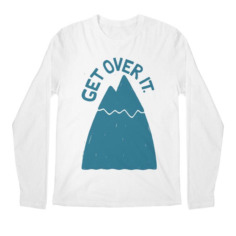 GET OVER /T Men's Longsleeve T-Shirt by DYLAN'S SHOP