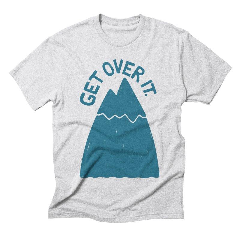 GET OVER /T Men's Triblend T-Shirt by DYLAN'S SHOP
