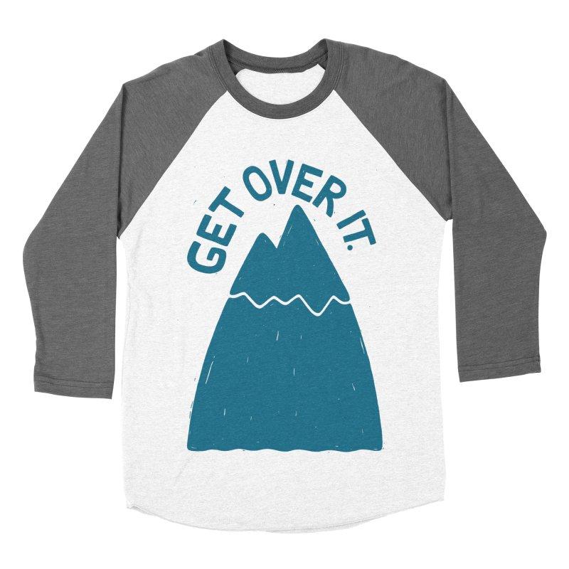 GET OVER /T Women's Baseball Triblend T-Shirt by DYLAN'S SHOP