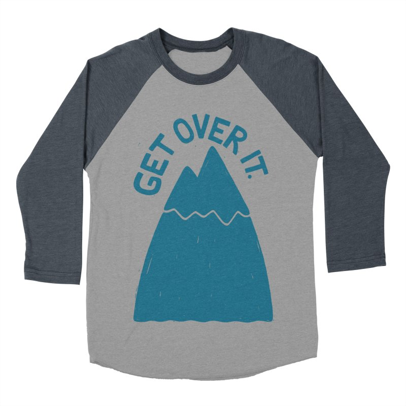 GET OVER /T Men's Baseball Triblend T-Shirt by DYLAN'S SHOP