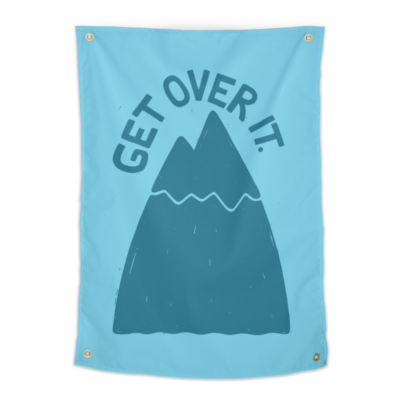 GET OVER /T Home Tapestry by DYLAN'S SHOP