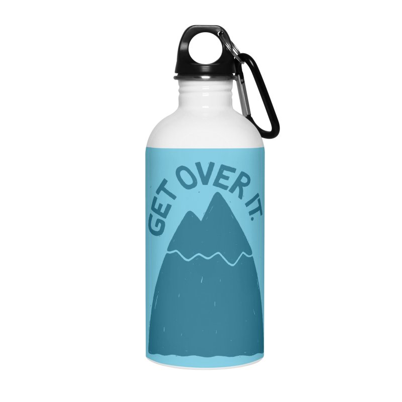 GET OVER /T Accessories Water Bottle by DYLAN'S SHOP