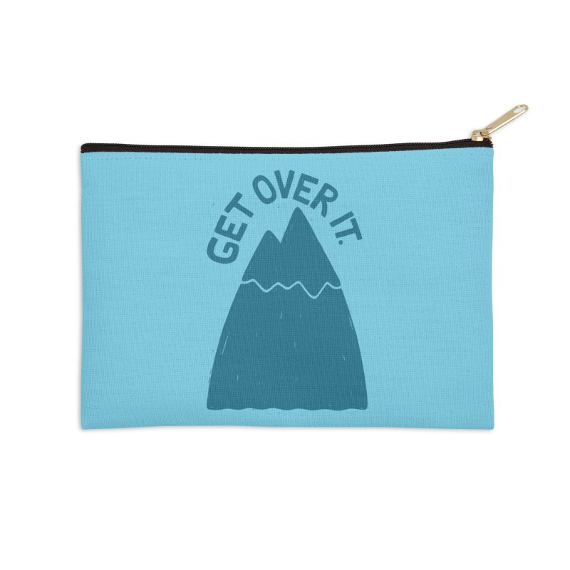 GET OVER /T Accessories Zip Pouch by DYLAN'S SHOP