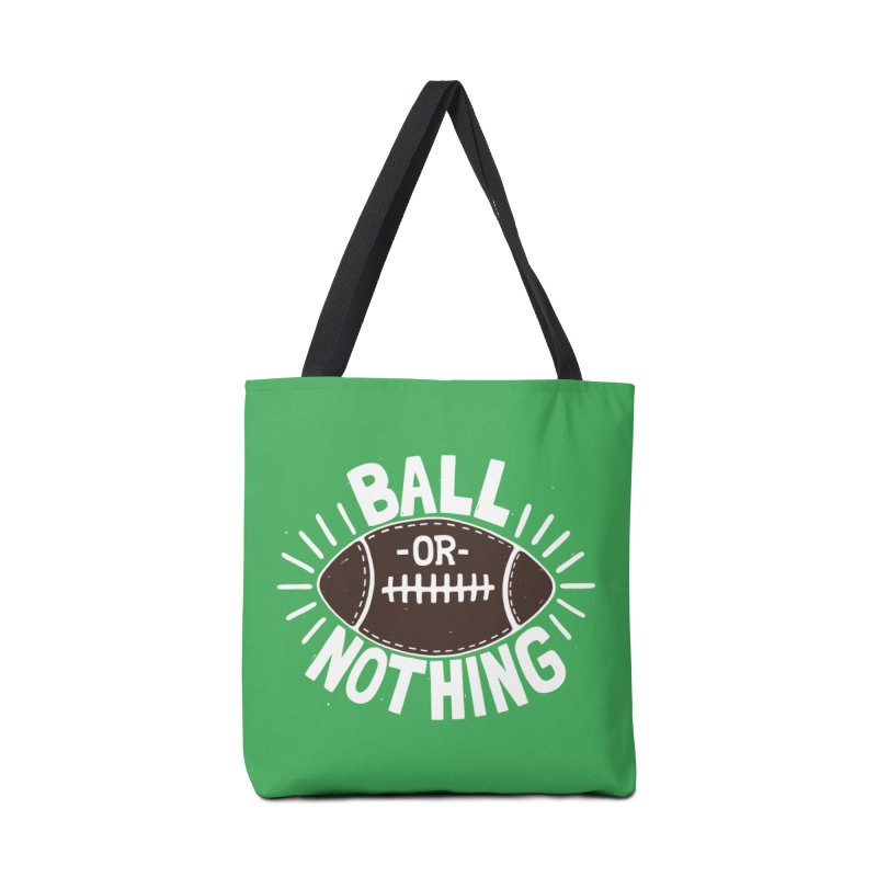 B\LL OR NOTH/NG Accessories Bag by DYLAN'S SHOP