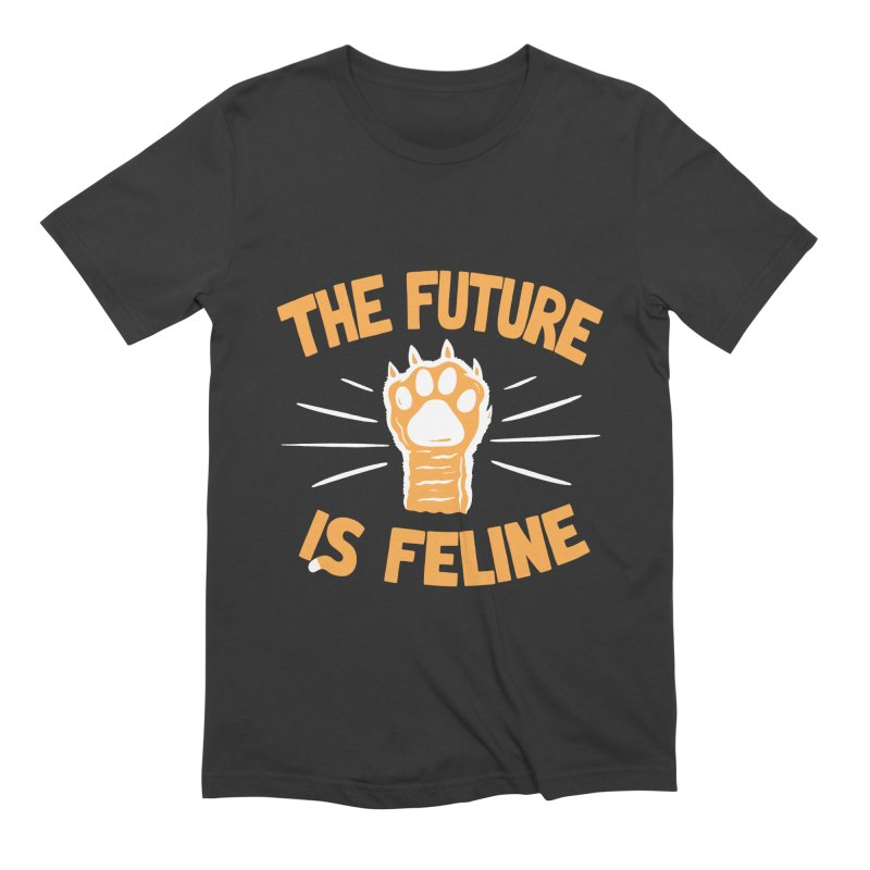 THE T/ME /S MEOW Men's Extra Soft T-Shirt by DYLAN'S SHOP
