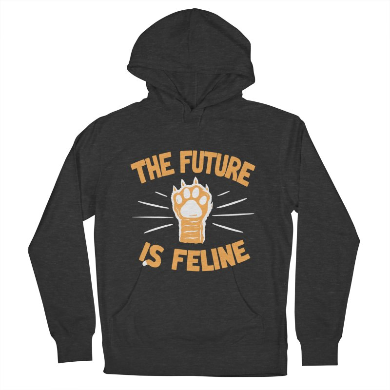 THE T/ME /S MEOW Men's French Terry Pullover Hoody by DYLAN'S SHOP