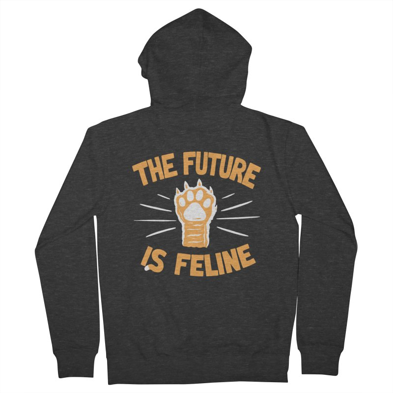 THE T/ME /S MEOW Women's Zip-Up Hoody by DYLAN'S SHOP