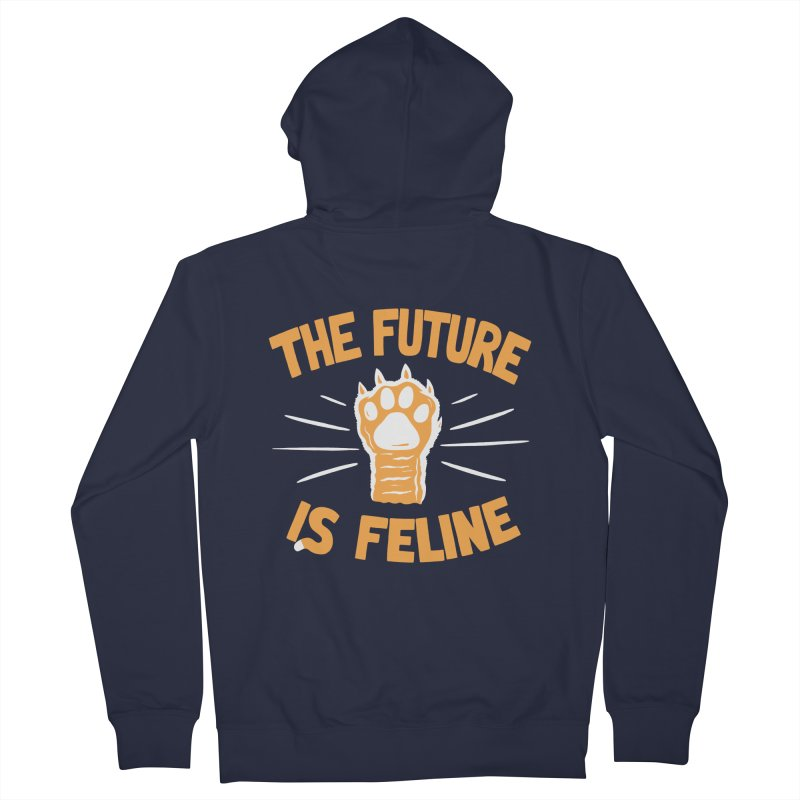 THE T/ME /S MEOW Men's Zip-Up Hoody by DYLAN'S SHOP