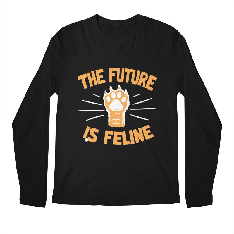 THE T/ME /S MEOW Men's Regular Longsleeve T-Shirt by DYLAN'S SHOP