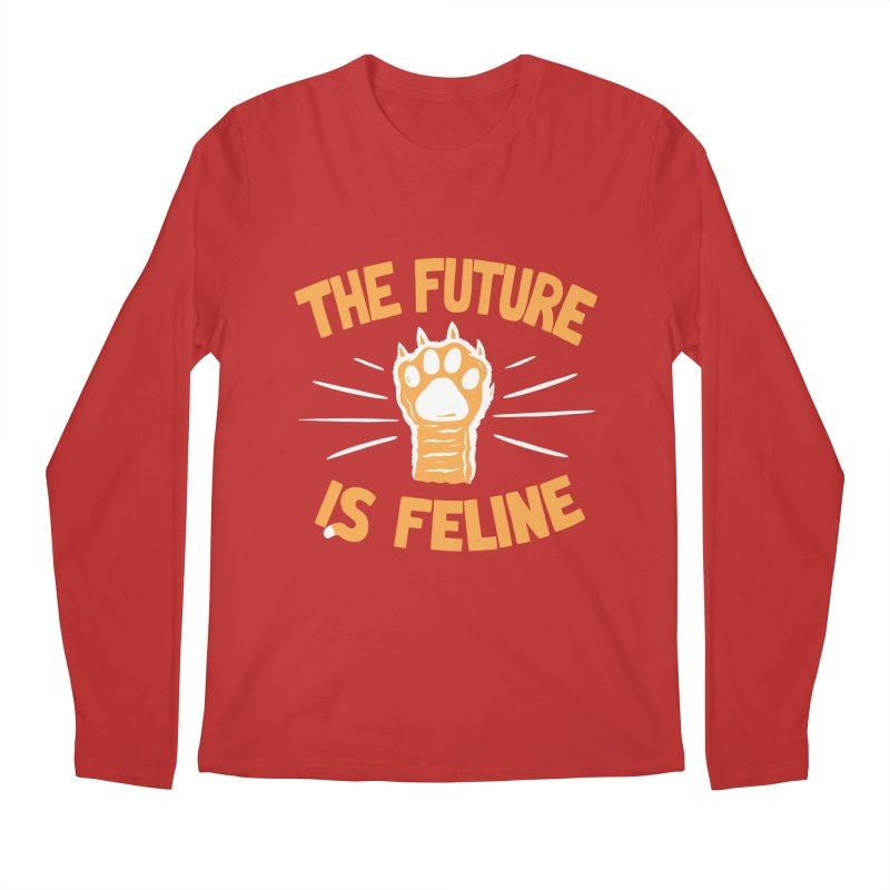 THE T/ME /S MEOW Men's Longsleeve T-Shirt by DYLAN'S SHOP
