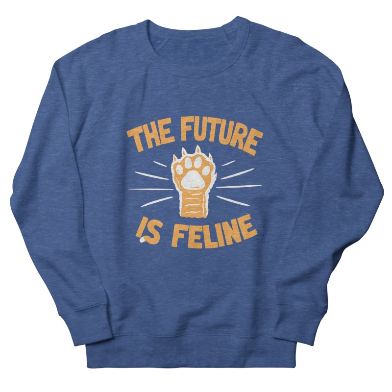THE T/ME /S MEOW Women's French Terry Sweatshirt by DYLAN'S SHOP
