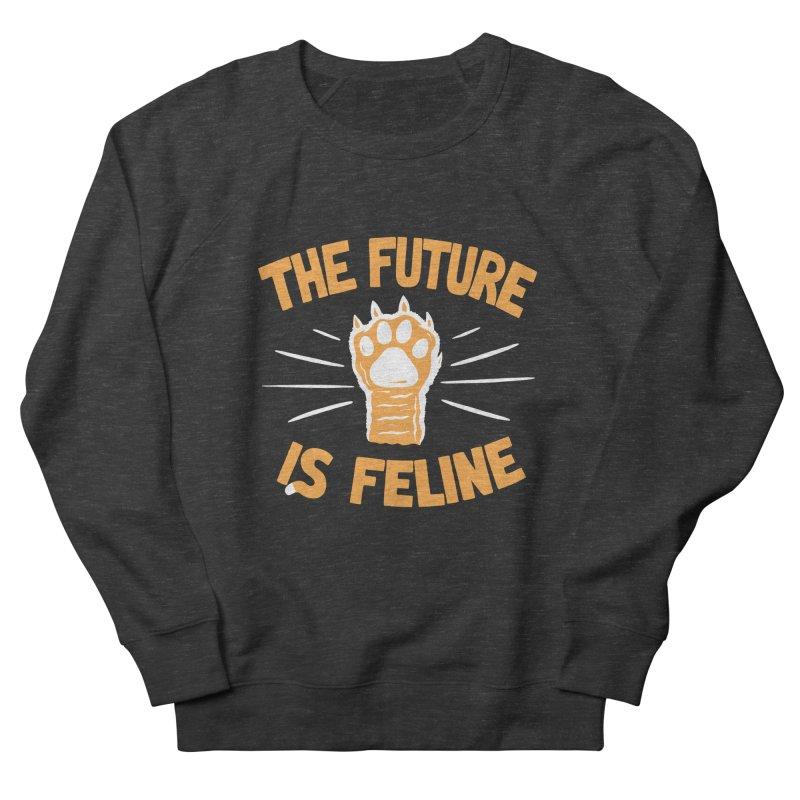 THE T/ME /S MEOW Men's French Terry Sweatshirt by DYLAN'S SHOP