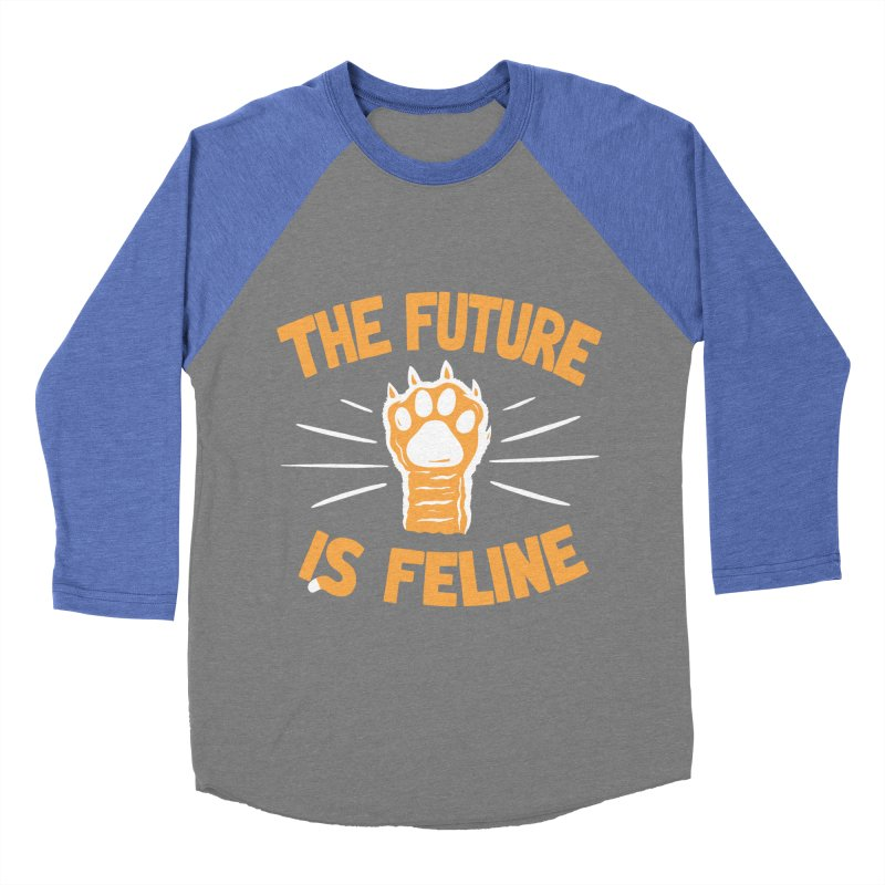 THE T/ME /S MEOW Women's Baseball Triblend T-Shirt by DYLAN'S SHOP