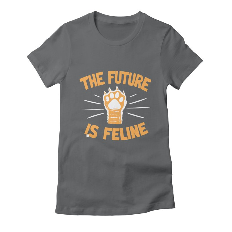 THE T/ME /S MEOW Women's Fitted T-Shirt by DYLAN'S SHOP