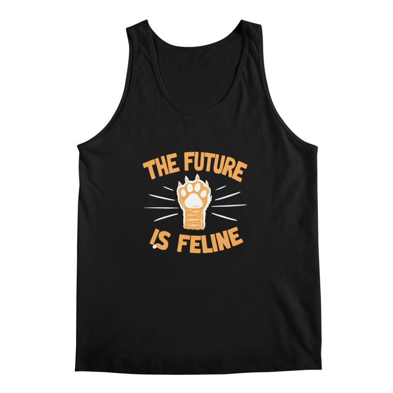 THE T/ME /S MEOW Men's Tank by DYLAN'S SHOP