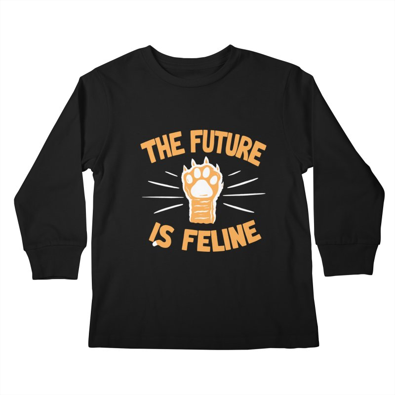 THE T/ME /S MEOW Kids Longsleeve T-Shirt by DYLAN'S SHOP