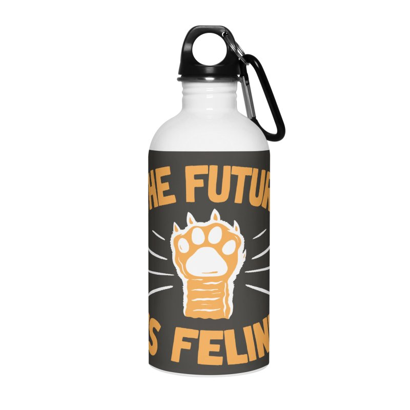 THE T/ME /S MEOW Accessories Water Bottle by DYLAN'S SHOP