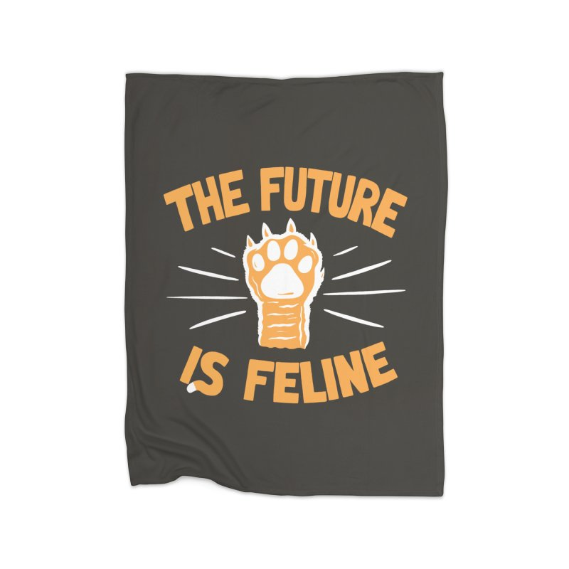 THE T/ME /S MEOW Home Fleece Blanket by DYLAN'S SHOP