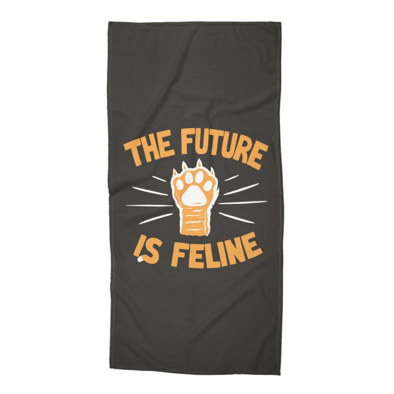 THE T/ME /S MEOW Accessories Beach Towel by DYLAN'S SHOP
